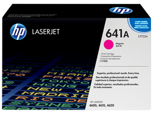 HP 641A, Magenta Original Toner Cartridge (C9723A)