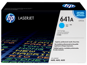 Genuine HP Brand C9721A Cyan Toner Cartridge