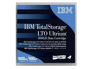 IBM LTO 4 800GB/1600TB Ultrium Data Tape Cartridge - 95P4436
