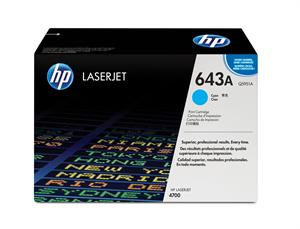 Genuine HP Brand Q5951A LaserJet Cyan Print Cartridge